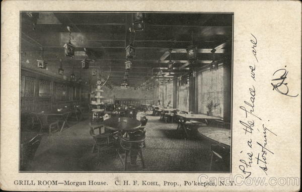 Grill Room - Morgan House Poughkeepsie New York