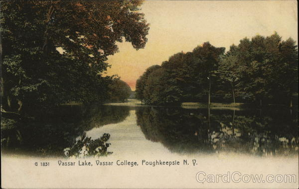 Vassar Lake, Vassar College Poughkeepsie New York