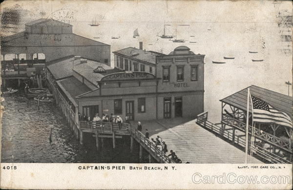 Captain's Pier Bath Beach New York
