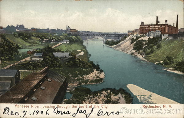 Genesee River, Passing Through the Heart of the City Rochester New York
