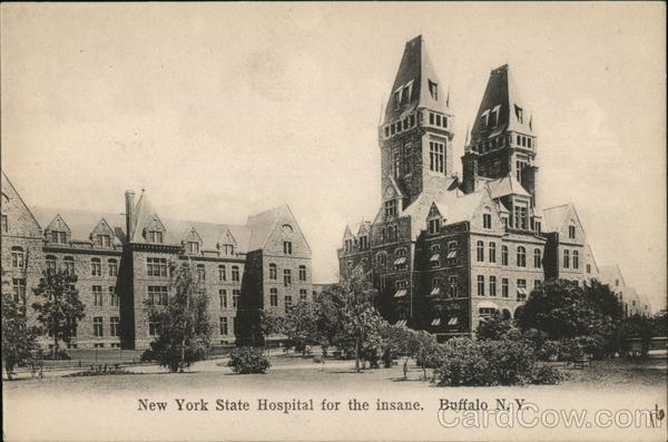 New York State Hospital for the Insane Buffalo
