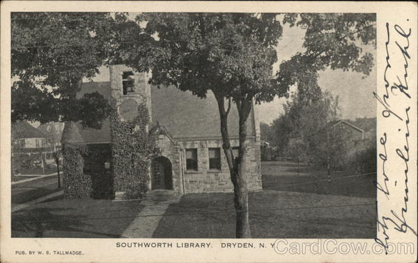 Southworth Library Dryden New York