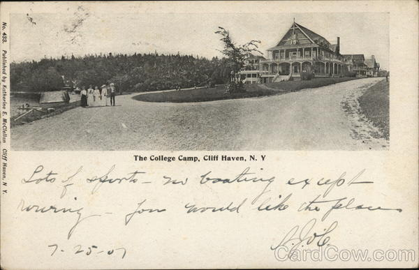 The College Camp Cliff Haven New York