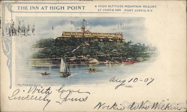 The Inn at High Point Port Jervis New York