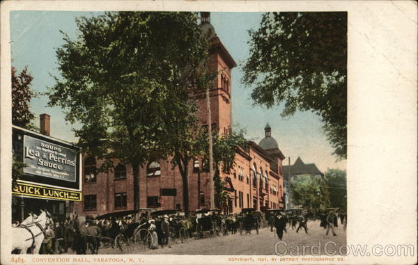 Convention Hall Saratoga New York