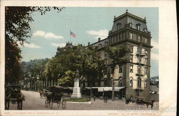 Congress Hall Hotel Saratoga New York
