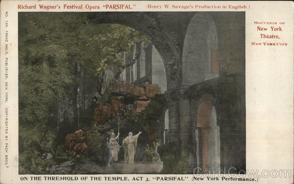 Richard Wagner's Festival Opera Parsifal