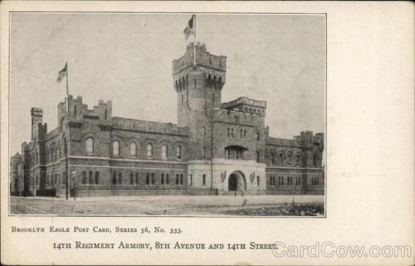 14th Regiment Armory, 8th Avenue and 14th Street Brooklyn New York