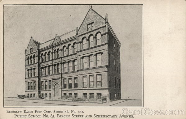 Public School No. 83, Bergen Street and Schenectady Avenue New York City