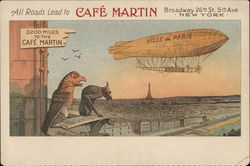 All Roads Lead to Cafe Martin