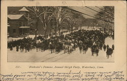 Blakeslee's Famous Annual Sleigh Party
