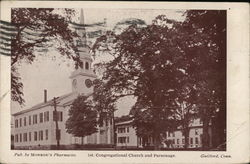 1st Congregational Church and Parsonage