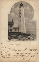 Pequot Lighthouse Postcard