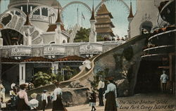 "The ""Helter Skelter"" Slide, Luna Park"