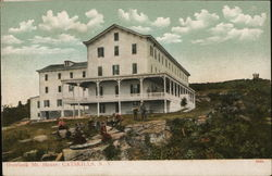Overlook Mt. House Postcard