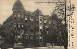 The Hotel Holland Postcard