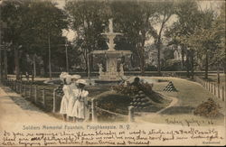 Soldiers Memorial Fountain