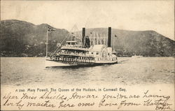 Mary Powell, The Queen of the Hudson, Cornwall Bay
