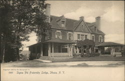 Sigma Phi Fraternity Lodge