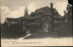 Delta Upsilon Fraternity Lodge