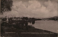 Junction of the Susquehanna and Chenango Rivers