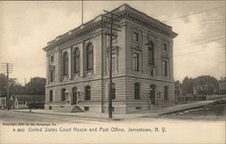 United States Court House and Post Office Postcard