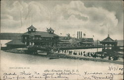Bathing Beach and Buildings, Kingston Point