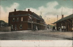 Grand Streetm, Showing St. Elmo Hotel
