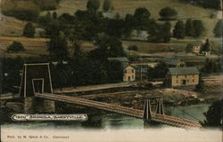 Shohola-Barryville Bridge, 1900