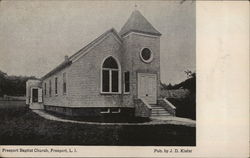 View of Baptist Church, Long Island