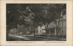 A View of Griffing Avenue, Long Island