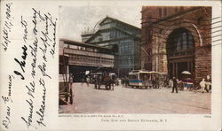 Park Row and Bridge Entrance, N. Y.