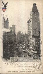 View of Broadway Taken From City Hall Park Showing Syndicate Building 32 Stories High