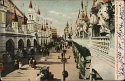 Buildings and Elevated Promenade, Luna Park
