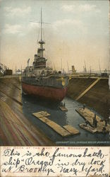 Dry Dock at the Navy Yard, Brooklyn