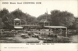 Boat House, Central Park