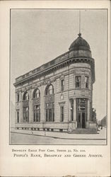 People's Bank, Broadway and Green Avenue