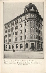 Manufacturers' National Bank, Broadway and Berry Street