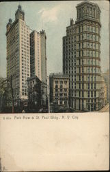 Park Row & St. Paul Bldg.