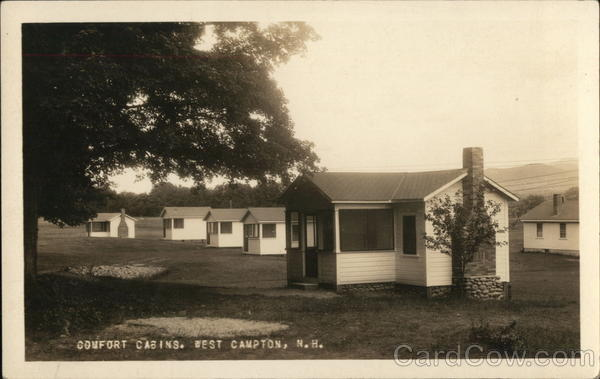Comfort Cabins West Campton New Hampshire Putnam Photo