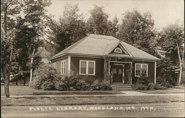 Public Library Woodland Maine