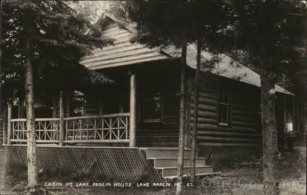 Cabin at Lake Parlin House Maine