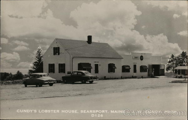 Cundy's Lobster House Searsport Maine