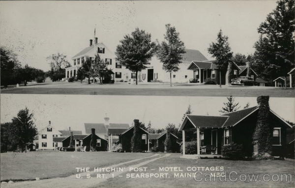 The Hitchin' Post Motel Cottages Searsport Maine