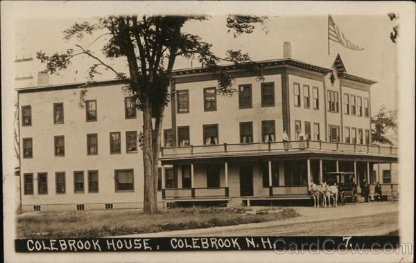 Colebrook House New Hampshire