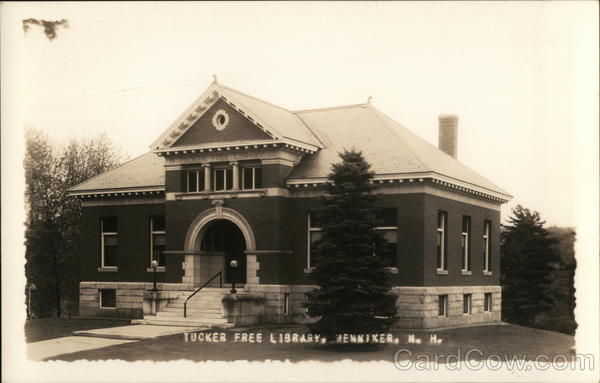 Tucker Free Library Henniker New Hampshire