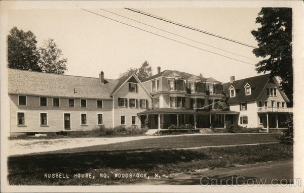 Russell House North Woodstock New Hampshire