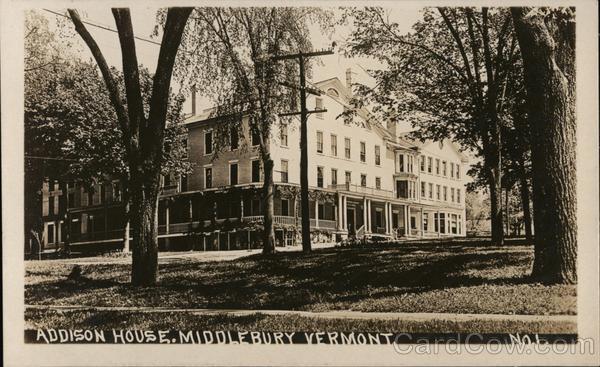 Addison House. Middlebury, Vermont.