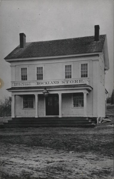 Rockland Store and Post Office Scituate Rhode Island