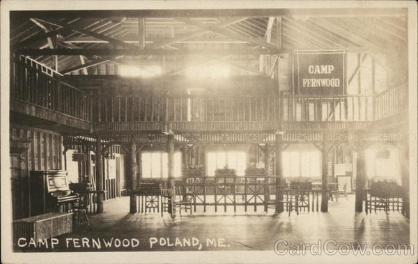 Camp Fernwood Interior Poland Maine